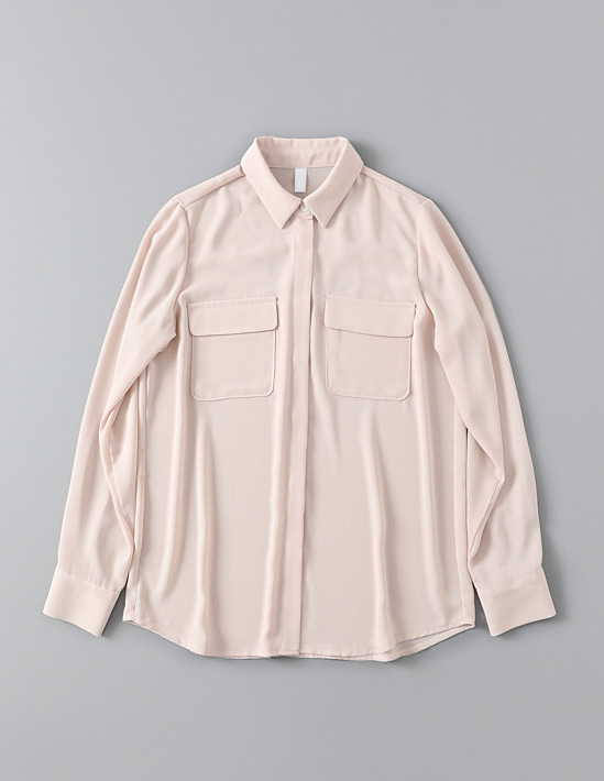 BASIC POCKET BLOUSE 블라우스